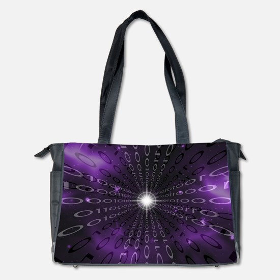 Binary Abstraction Diaper Bag