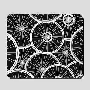 Bicycle Wheels Pattern - Sports Backgrou Mousepad