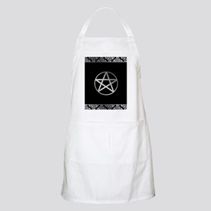 Silver Pentacle Apron