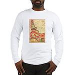 Flat Idaho Long Sleeve T-Shirt