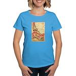 Flat Idaho Women's Dark T-Shirt