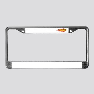 Ruthless on the Court License Plate Frame