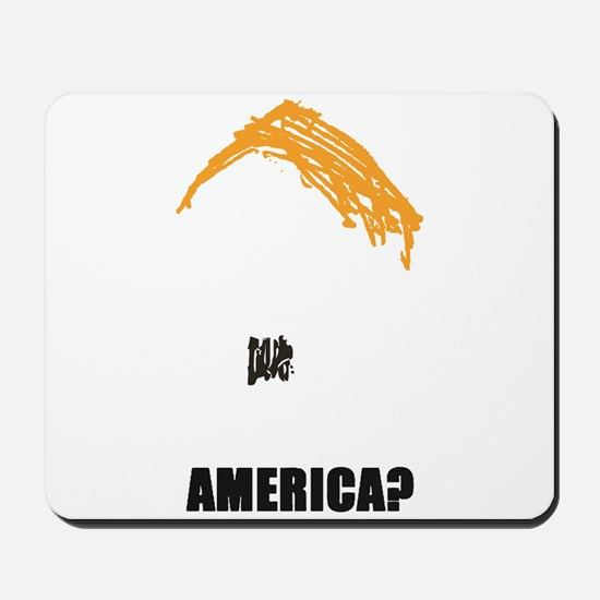 TRUMP PROTEST IMAGE Mousepad