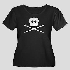 Craft Pirate Needles Women's Plus Size Scoop Neck