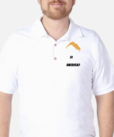 TRUMP PROTEST IMAGE Golf Shirt