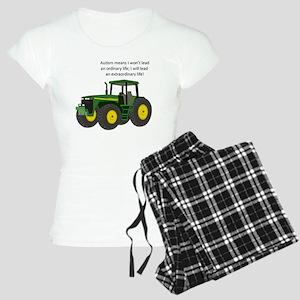 Autism Tractor Women's Light Pajamas