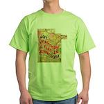 Flat Minnesota Green T-Shirt