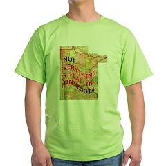 Flat Minnesota T-Shirt
