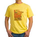 Flat Minnesota Yellow T-Shirt