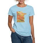 Flat Minnesota Women's Light T-Shirt
