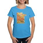 Flat Minnesota Women's Dark T-Shirt