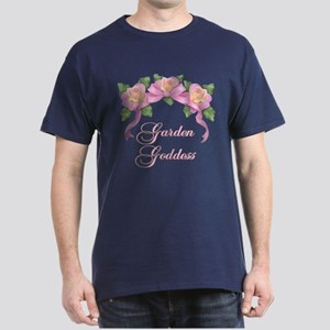 Rose Garden Goddess Dark T-Shirt