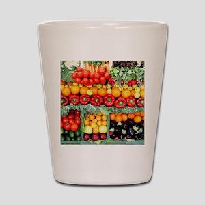 fruits and veggies Shot Glass