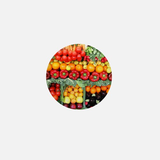 fruits and veggies Mini Button