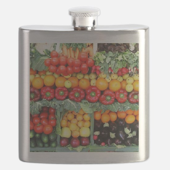 fruits and veggies Flask