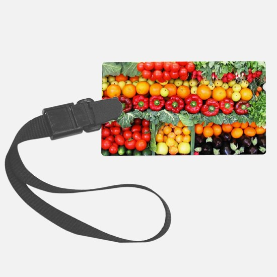 fruits and veggies Luggage Tag