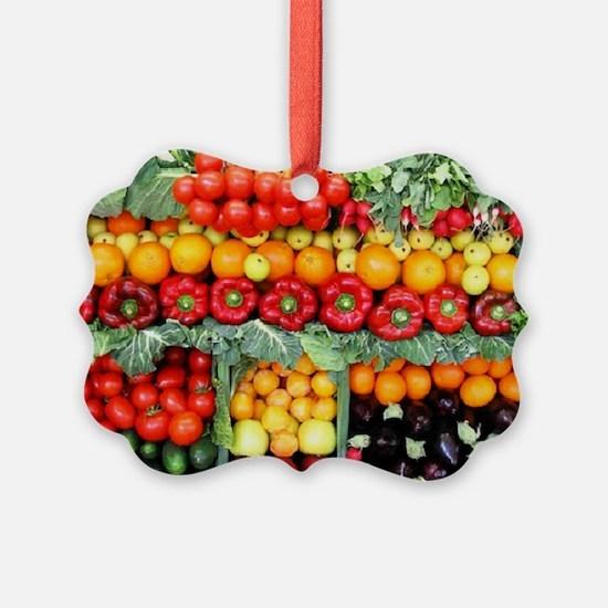 fruits and veggies Ornament