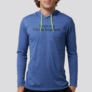 Trust Me I'm An Engineer Mens Hooded Shirt