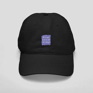 Lottery humor saying Black Cap