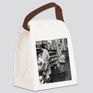 1930s grocery store Canvas Lunch Bag