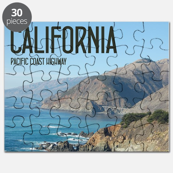 California Pacific Coast Highway 1 Bixby Br Puzzle