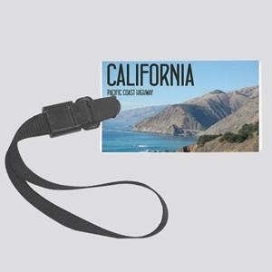 California Pacific Coast Highway Large Luggage Tag