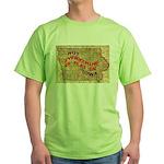 Flat Iowa Green T-Shirt