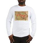 Flat Iowa Long Sleeve T-Shirt