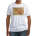 Flat Iowa Fitted T-Shirt