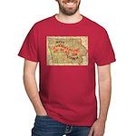 Flat Iowa Dark T-Shirt