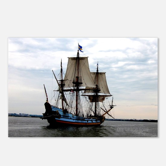 Ship on the Potomac River Postcards (Package of 8)