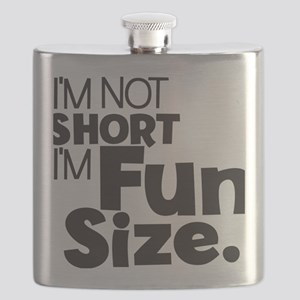 Im not Short Im Fun Size Flask