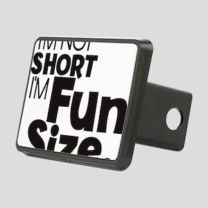 Im not Short Im Fun Size Rectangular Hitch Cover