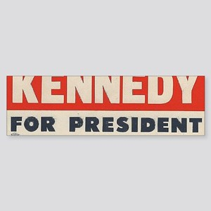 kennedy for president  Sticker (Bumper)