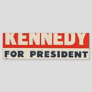 kennedy for president  Sticker (Bumper)