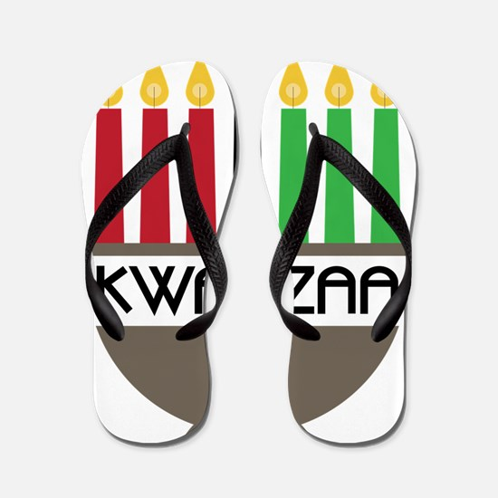 Kwanzaa Flip Flops