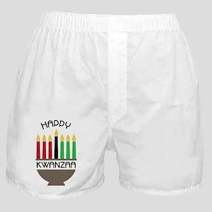 Happy Kwanzaa Boxer Shorts
