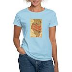 Flat Illinois Women's Light T-Shirt