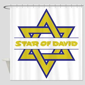 Star of David Shower Curtain
