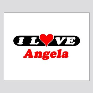 I Love Angela Small Poster