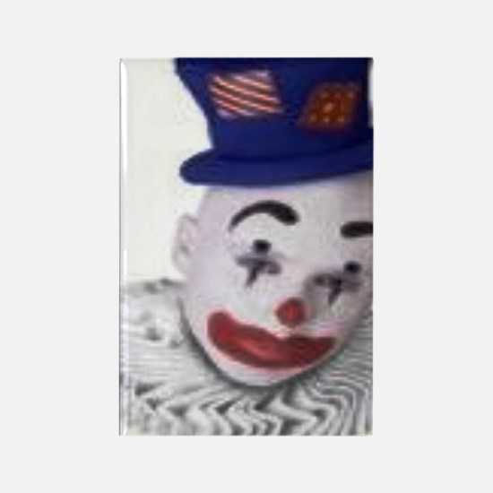 clown Rectangle Magnet
