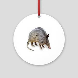 armadillo Round Ornament