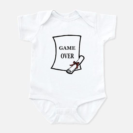 GAME OVER DIPLOMA Infant Bodysuit