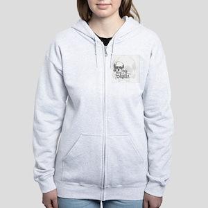 ns_Key Hanger Women's Zip Hoodie