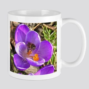 Spring Flower Purple Tulip Coffee Mug