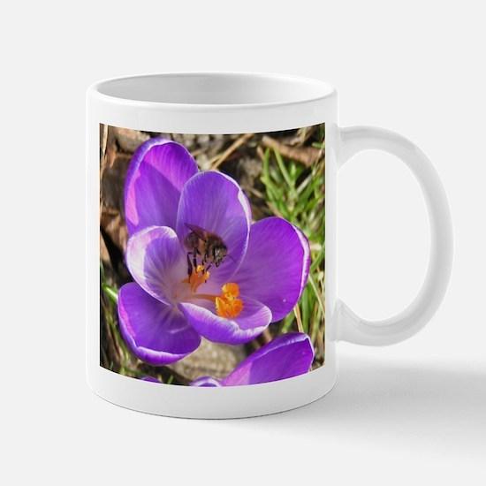 Spring Flower Purple Tulip Coffee Mug