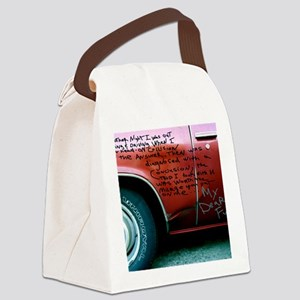 You Are My Fuel Canvas Lunch Bag