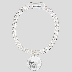 ns_Square Cocktail Plate Charm Bracelet, One Charm