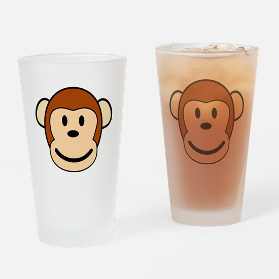 funky monkey Drinking Glass