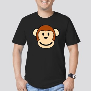 funky monkey Men's Fitted T-Shirt (dark)